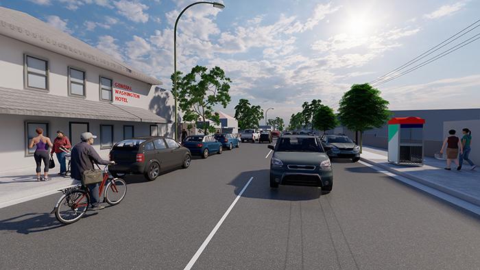 Mitchell Street, Stockton - image City of Newcaslte